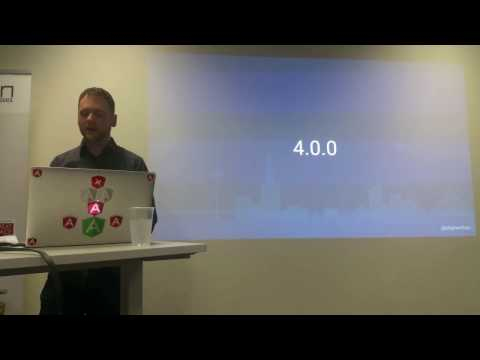 Angular 4 and Angular CLI | By Stephen Fluin from Angular team | ng-sydney March 2017