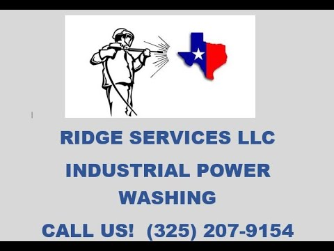 Industrial Power Washing (Oilfield Equipment Cleaning) - Ridge Services LLC