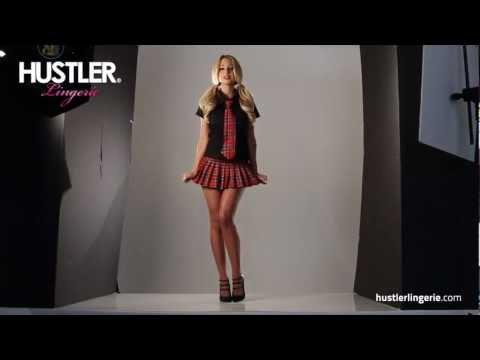 Фотосессия игрового костюма школьницы от Hustler Lingerie  28.03.2013