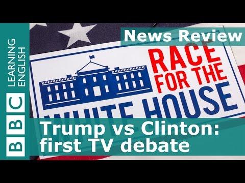 BBC News Review: Trump vs Clinton: first US presidential TV debate