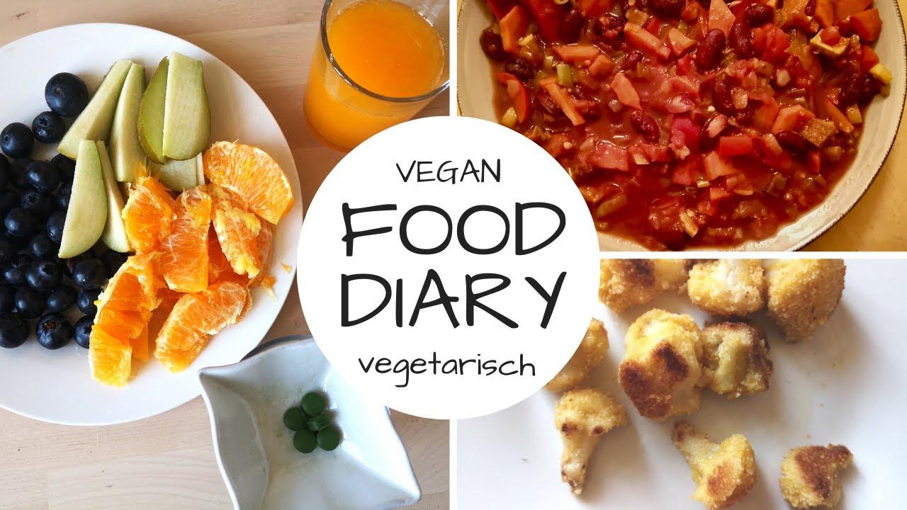 FOOD DIARY (fast) vegan - 3 Tage - das essen meine Kinder (15 + 11)