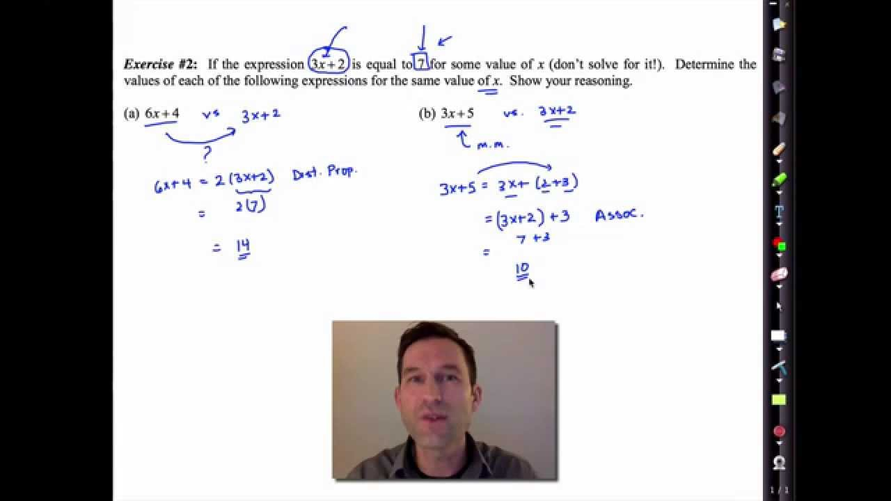 Common Core Algebra I Unit #1 Lesson #6 Seeing Structure in Expressions