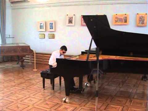 Levon Karapetyan. Concert At House-Museum Of Aram Khachaturian. Yerevan. 2009