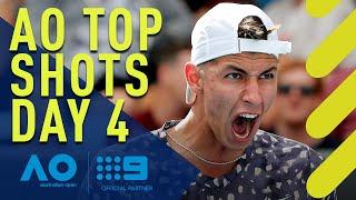 Australian Open Top Shots - Day 4 | Wide World of Sports