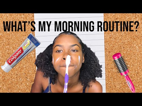 Morning Routine (Very Realistic) ft QUEEN HAIR