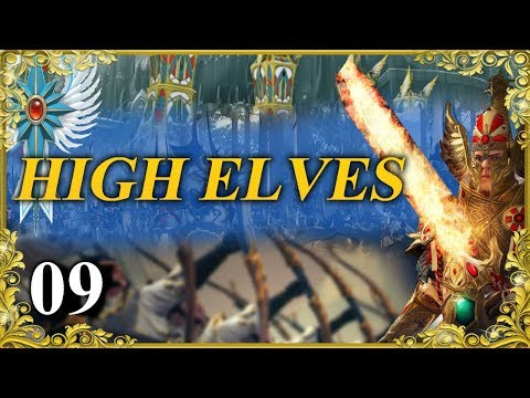 What Can You Do Against This Many Arches Total War: Warhammer 2 - High Elves Campaign - Tyrion 09