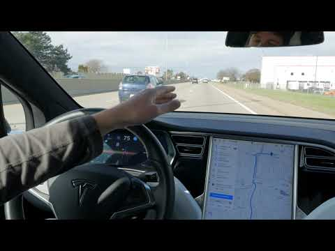 Here's what Tesla's Drive on Nav is good at currently