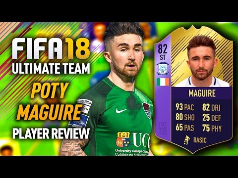 FIFA 18 POTY MAGUIRE 82 *PURPLE* PLAYER ! FIFA 18 ULTIMATE TEAM!