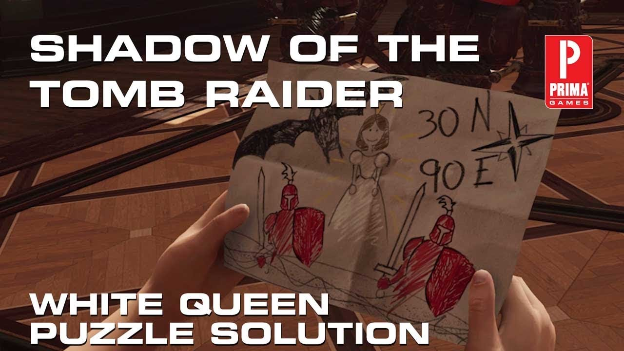 Shadow of the Tomb Raider - White Queen Puzzle Solution | Tips