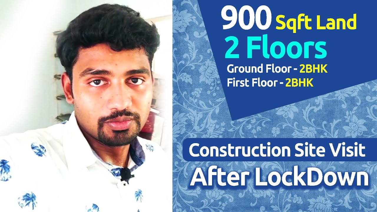 900 Sqft Land | 2 Floor 2BHK each Floor | Construction Site visit | Siva Builders