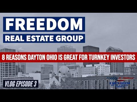 Freedom Vlog Episode 3 - 8 Reasons Dayton Ohio Is Great For Turnkey Real Estate Investors