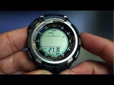 Casio Protrek Solar Power Watch PRG-110-1V