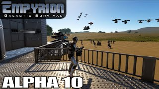 Alpha 10, HUGE UPDATE! | Empyrion Galactic Survival | Space Survival Alpha 10 Gameplay | E01