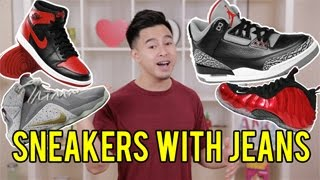 TOP 5 SNEAKERS TO WEAR WITH JEANS