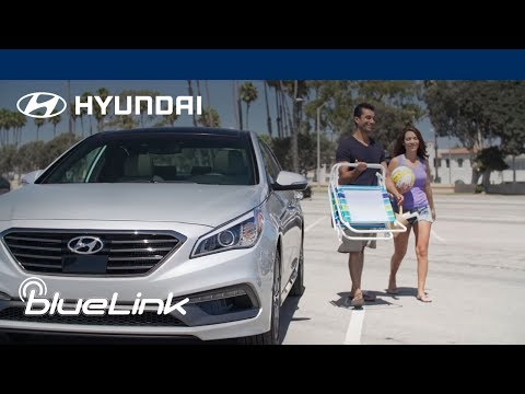 Remote Lock, Unlock and Start in Hot Weather | How-To | Hyundai Blue