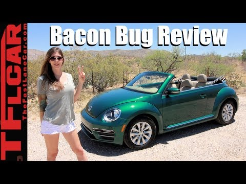 2018 Beetle Convertible Review: Top Down Bacon!