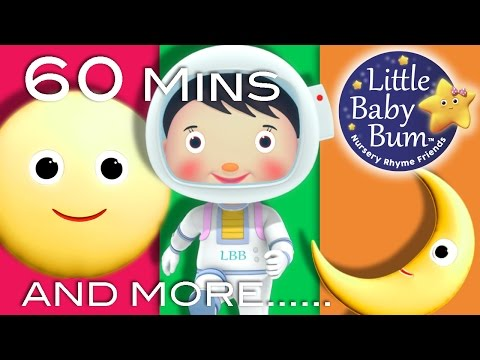 The Moon Song | Plus Lots More Nursery Rhymes | 60 Minutes Compilation from LittleBabyBum!