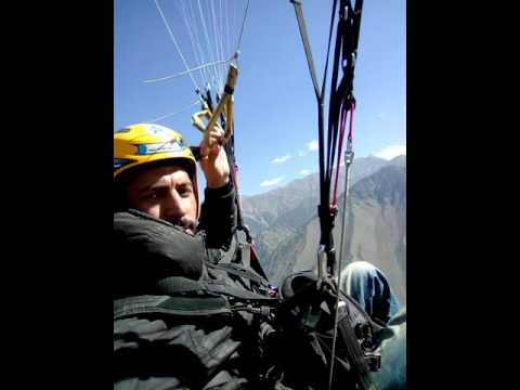 Paragliding Sajid Zia  My flight above Chitral Goal national park and Chitral city