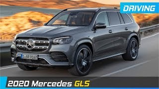 2020 Mercedes GLS - Driving Scenes & Specifications
