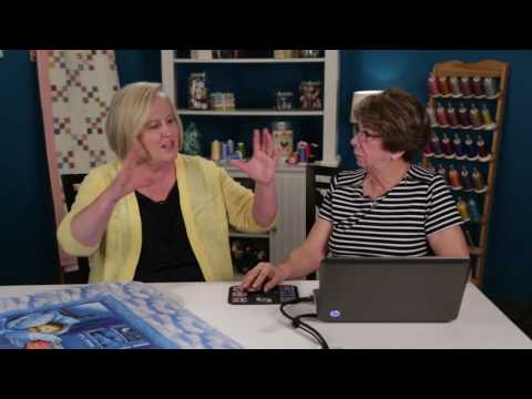 HQ Live – Using Fonts in Art & Stitch with Linda Matteotti (October 2016)