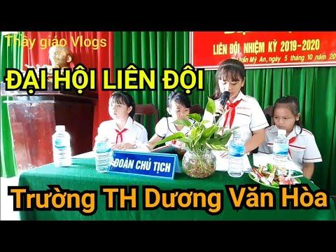 Hoạt động VH-GD | Đại hội Liên đội trường được tổ chức như thế nào? Thầy giáo Vlogs