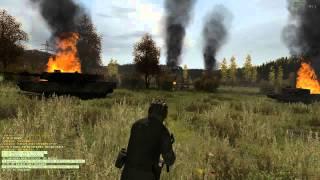 m1 abrams vs 200 t 34 soviet ww2 tanks arma 2