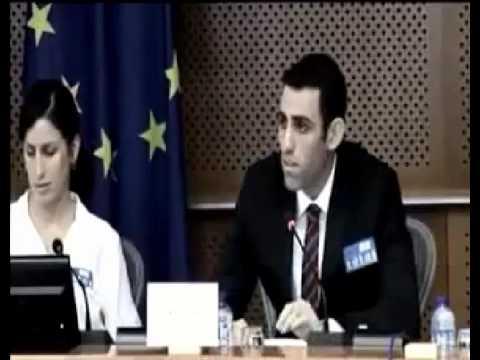 matan katzman Speaking truth about the IDF to the European Union