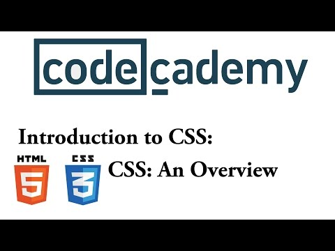 HTML And CSS: An Overview