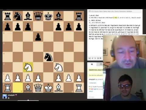 GM Alex Colovic: Italian Game by 1,800 player w/white (Chess Analysis #2)