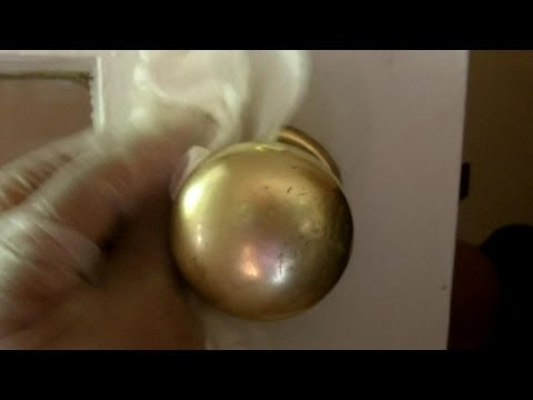 Best Way to Clean and Shine Brass Hardware to a Brilliant Finish