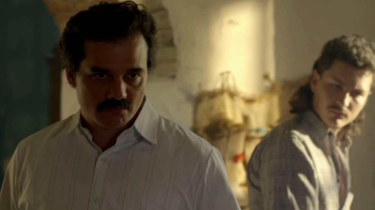 """Narcos Escenas Porno narcos - pablo escobar - """"nosotros somos el cartel de medellín, hijueputa"""""""