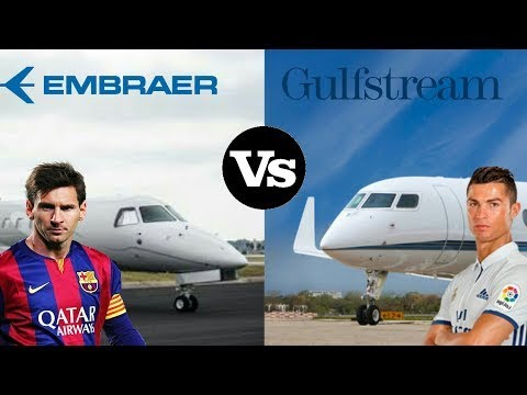 Lionel Messi vs Cristiano Ronaldo Private Jet Comparison Exterior , Interior Price & Reviews