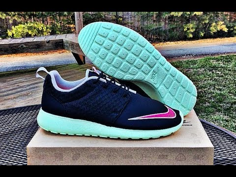 cura Dispensación Impermeable  Nike Roshe Run Yeezy (Mint Green / Pink) @ Got Sole? Indianapolis ...