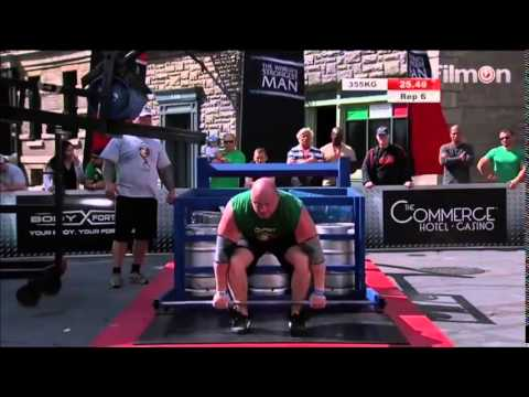 2014 World's Strongest Man - Heat 2