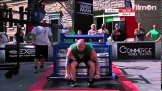 2014 World's Strongest Man - Heat 2