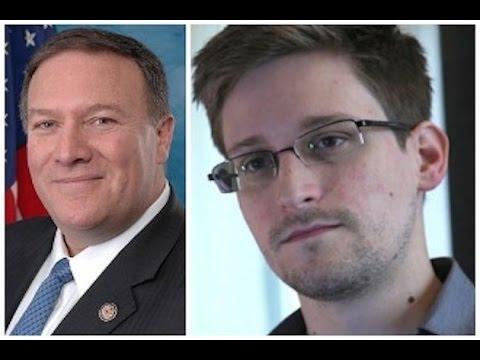 Trump's CIA Pick: Execute Edward Snowden