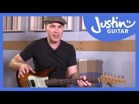 5 Blues Licks In Pattern 3 Minor Pentatonic Blues Scale: Blues Lead Guitar Lesson Tutorial s2p3