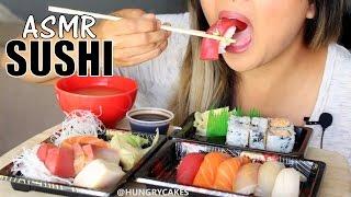 ASMR: Sashimi 刺身 and Nigiri Sushi *NO TALKING EATING SOUNDS*