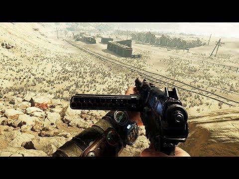 NEW METRO EXODUS Gameplay - Metro Goes Mad Max (Gameplay & Impressions)