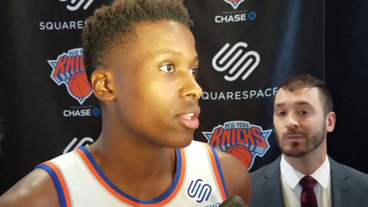 Knicks: Frank Ntilikina sprains knee, and injury updates