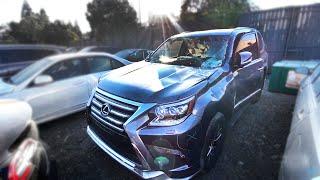 Lexus GX 460 2019.  Обзор авто с аукциона Copart.  Авто из США.