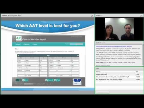 The AAT and benefits of studying distance learning