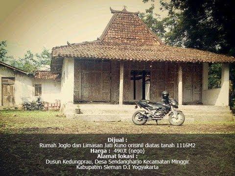 Rumah Joglo dan Limasan Jati Kuno Orisinil diatas tanah 1116M2 & Rumah Joglo dan Limasan Jati Kuno Orisinil diatas tanah 1116M2 - YouTube