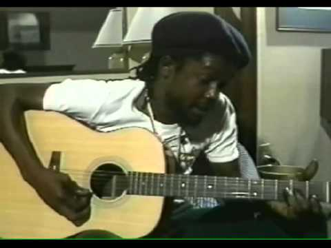 """Peter Tosh - Rare Acoustic """"Creation"""" and Interview about Bob Marley"""