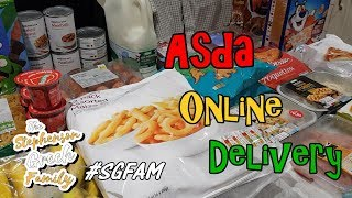 Asda Online Delivery..   Daily Vlog - 19/01/2019  
