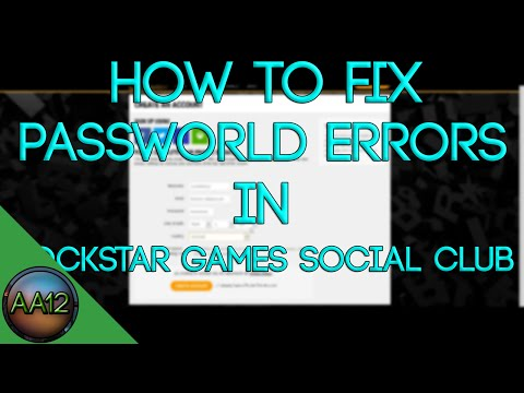 How to fix all password errors on Rockstar Games Social Club
