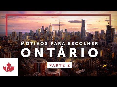 +5 MOTIVOS para escolher ONTÁRIO para IMIGRAR (Parte 2)