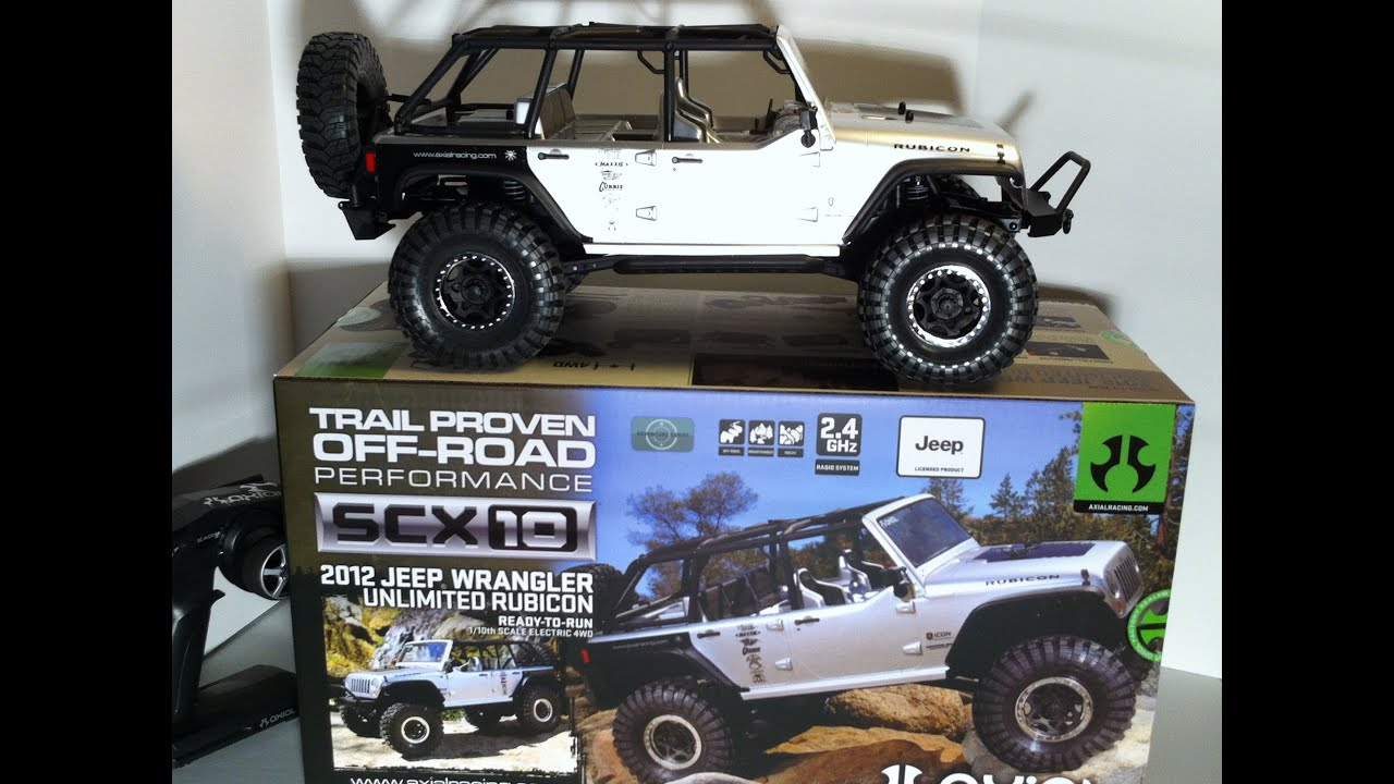 Axial SCX-10 2012 Jeep Wrangler Unlimited Rubicon UNBOXED ...
