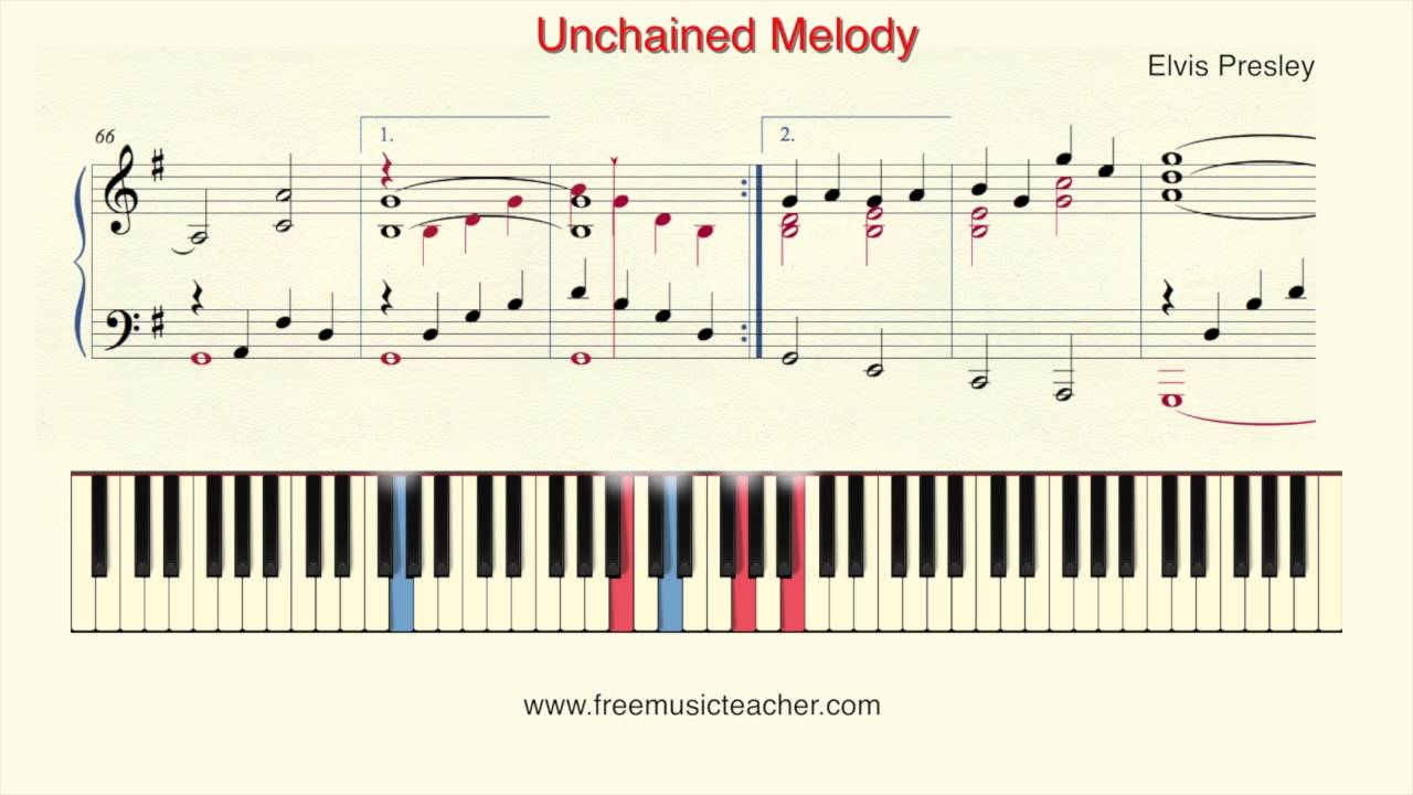 How to play piano elvis presley unchained melody piano tutorial how to play piano elvis presley unchained melody piano tutorial by ramin yousefi hexwebz Images
