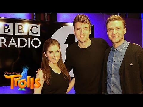 Anna Kendrick & Justin Timberlake on BBC Radio 1 with Greg James | Trolls Interview